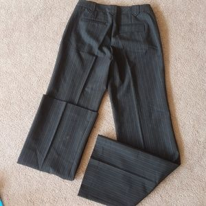 CLUB MONACO  pin striped wool blend with pockets